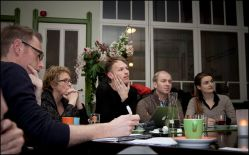 Voor Stichting LGBT Groningen zit ik de Platformvergaderingen voor. Dit was februari '13.
