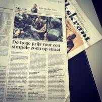 Interview De Volkskrant, vertoning 5000 ROEBEL Gay Pride