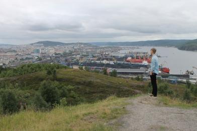 Kris van der Veen in Moermansk.