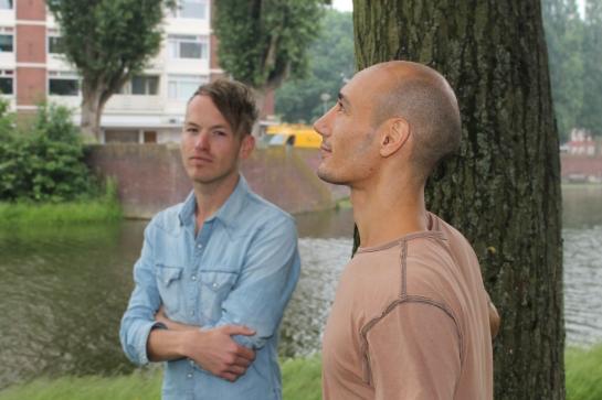 Kris van der Veen en Yasin Layeb, via www.nederlanderschapvoorpardonners.petities.nl