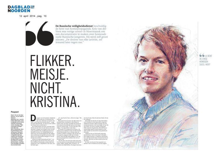 Dagblad van het Noorden & Leeuwarder Courant, WKND 14/15 april 2014 | 1