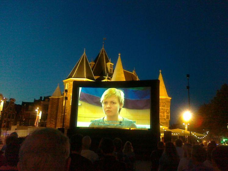 Vertoning 5000 ROEBEL, Nieuwmarkt, 30 juli 2014
